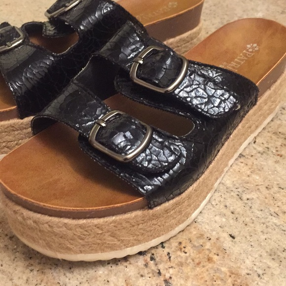 c8bc0da3e16a Patrizia sandals by spring step - used platform